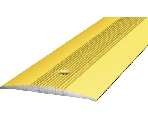 Übergangsprofil Alu gelocht gold 37x4x2700 mm