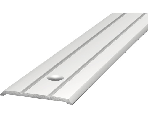 Alu Abschlussprofil gelocht silber 25x3x2700 mm