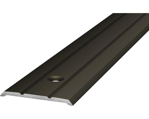Alu Abschlussprofil gelocht bronze 25x2700x3 mm