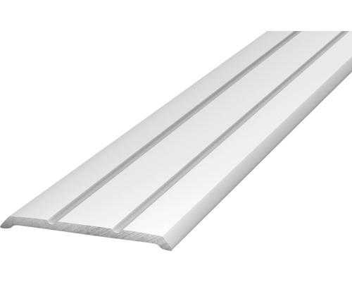 Alu Abschlussprofil silber 25x3x2700 mm