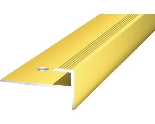 Übergangsprofil Alu gelocht gold 15x2500 mm