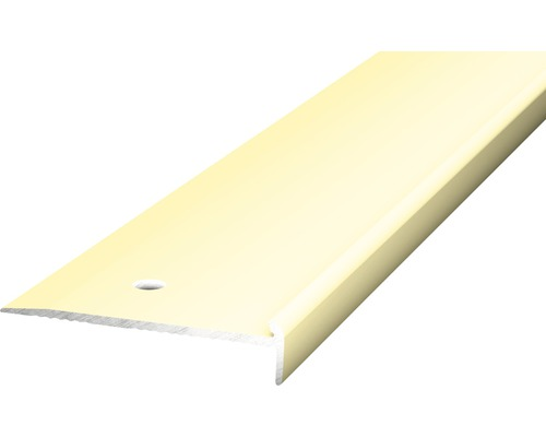 Treppenkantenprofil 48x10 für PVC sahara 2,5x10x2500 mm