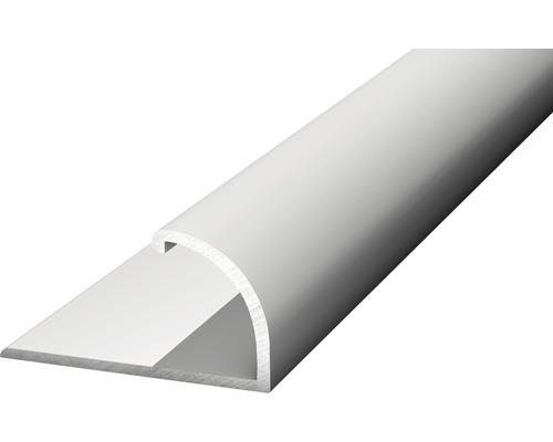 Alu Abschlussprofil silber 25x14x2700 mm