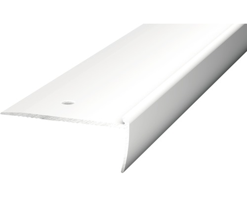 Treppenkantenprofil Alu für PVC 2,5mm 250cm silber