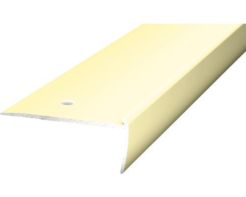 Treppenkantenprofil Alu für PVC 2,5mm 250cm sahara