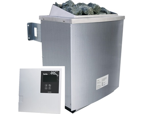 Saunaofen Karibu 9 kW inkl.ext.Steuerung Classic