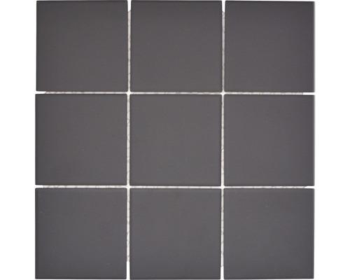 Keramikmosaik CU 922 schwarz 29,25x29,25 cm