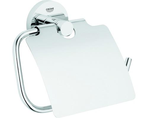Toilettenpapierhalter GROHE Essentials mit Deckel 40367001