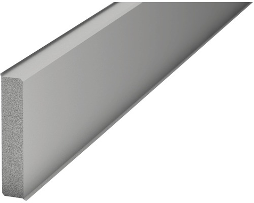 Sockelleiste Hartschaum grau 60x2500 mm