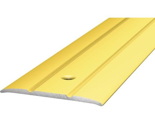 Übergangsprofil Alu gelocht gold 270 cm