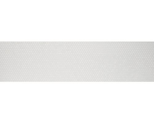 Keramikmosaik Knopf 110 30,2x33 cm weiß matt