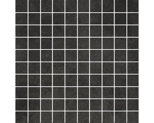 Feinsteinzeug Mosaik Philippa anthrazit 30x30 cm