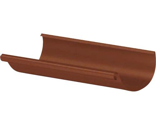 Precit Dachrinne oxide red NW 125mm Länge: 4,00m Größe 280