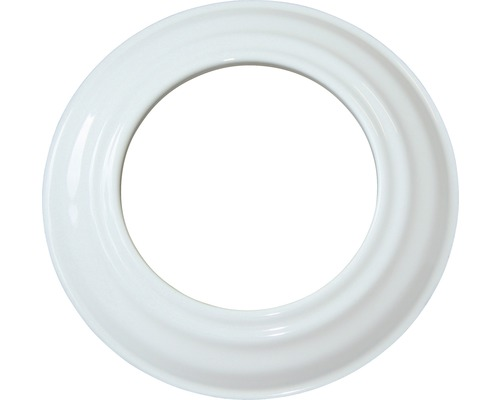 Ofenrohr-Rosette Ø100 mm weiß