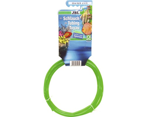 Aquarienschlauch JBL (Luft) 4/6 mm 2,5 m, grün