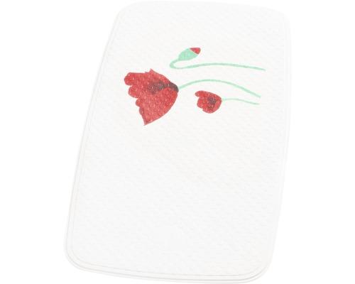 Wanneneinlage Ridder Mohn weiß 38 x 72 cm
