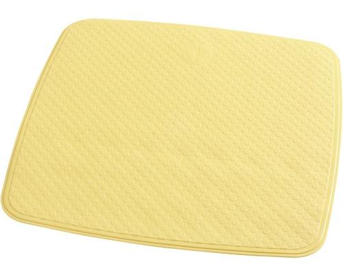 Duscheinlage Capri gelb ca. 54 x 54 cm