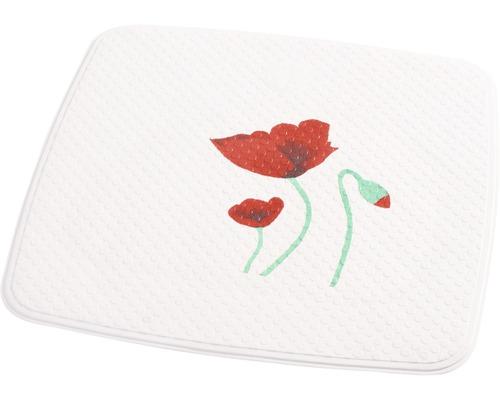 Duscheinlage Ridder Mohn weiß 54 x 54 cm