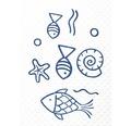 Duscheinlage Ridder Neptun blau 54 x 54 cm