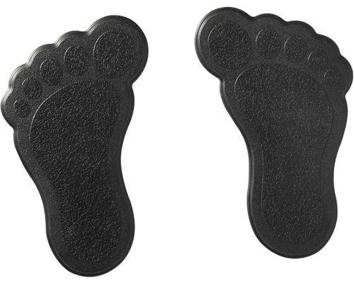 Mini Wanneneinlage RIDDER Füße 11 x 13 cm schwarz