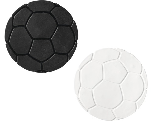 Mini Wanneneinlage Ridder Fußball schwarz-weiß 10 cm