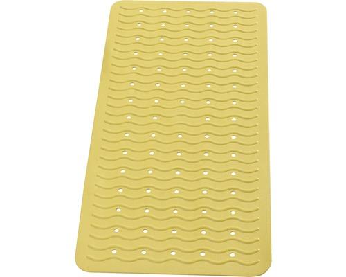 Wanneneinlage Playa gelb ca. 38 x 80 cm