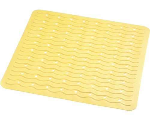 Duscheinlage Playa gelb ca. 54 x 54 cm