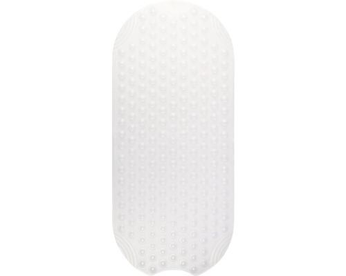 Wanneneinlage Tecno Ice transparent ca. 38 x 89 cm