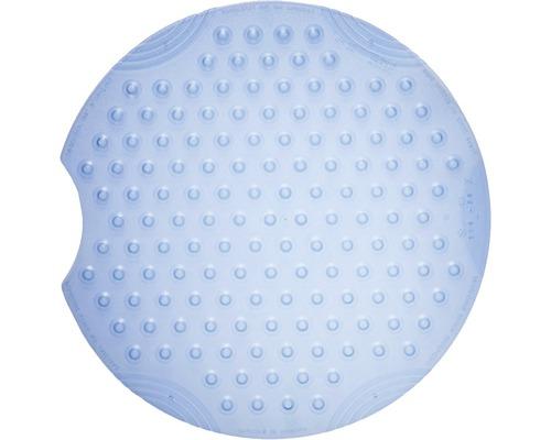 Duscheinlage Tecno Ice blau ca. Ø 55 cm