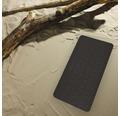 Wanneneinlage Playa schwarz ca. 38 x 80 cm