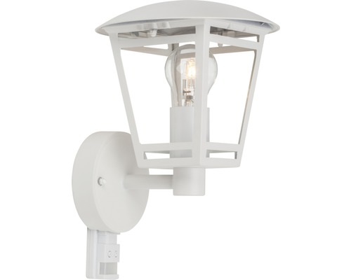 Sensor Außenwandleuchte 1-flammig H 300 mm Riley weiß