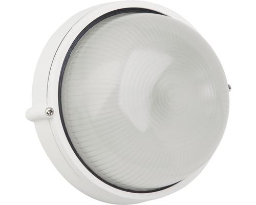 Außenwandeuchte 1-flammig Ø 180 mm Silvester weiß