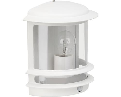 Sensor Außenwandleuchte 1-flammig H 240 mm Hollywood weiß