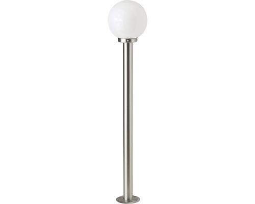 LED Außenstehleuchte 1x5,8W 630 lm 2700 K warmweiß H 1050 mm Aalborg edelstahl/weiß