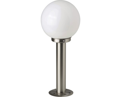 LED Außensockelleuchte 1x5,8W 630 lm 2700 K warmweiß H 440 mm Aalborg edelstahl/weiß