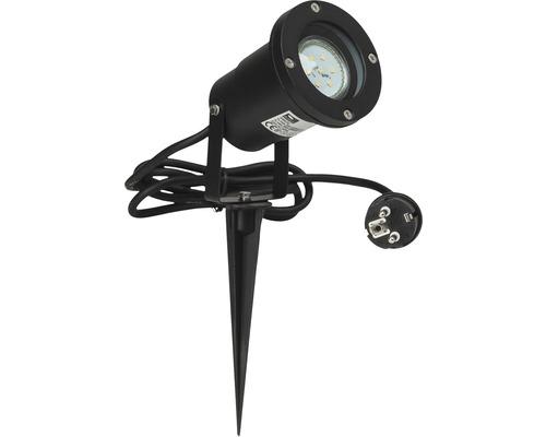 LED Gartenstrahler 1x3W 250 lm 3000 K warmweiß H 320 mm Janko mit Erdspieß schwarz