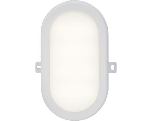 LED Außenwandleuchte 1x5W 450 lm 4200 K neutralweiß H 172 mm Tilbury weiß