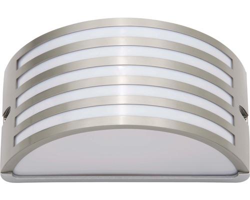 Außenwandleuchte 1-flammig B 250 mm Celica edelstahlfarben/weiß