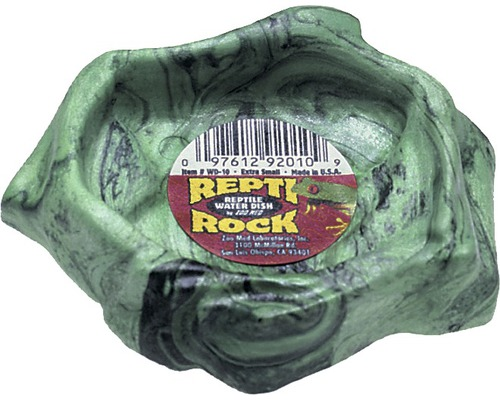 Futterstelle ZOO MED Repti Rock Water Dish 10x9x3 cm zufällige Farbauswahl