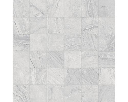 Feinsteinzeugmosaik Varana Gris 30x30 cm