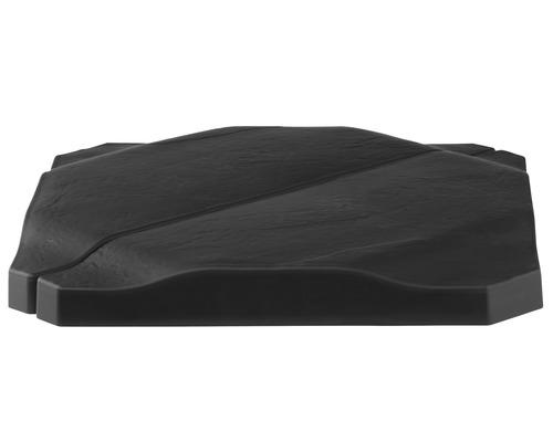 Beschwerungsplatten für Kreuzständer 25 kg schwarz