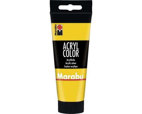 Marabu Künstler- Acrylfarbe Acryl Color 019 gelb 100 ml