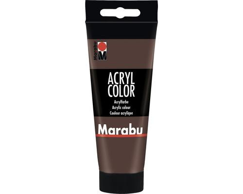 Marabu Künstler- Acrylfarbe Acryl Color 040 mittelbraun 100 ml