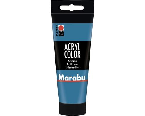 Marabu Künstler- Acrylfarbe Acryl Color 056 cyan 100 ml