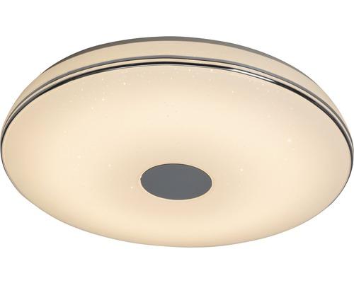 LED Deckenlampe dimmbar 1x20W 1600 lm 2800/4500 K warmweiß/neutralweiß Ø 400 mm Mondo Deco weiß/chrom