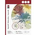 Marabu Malblock für Aquarellmalerei 30x40 cm