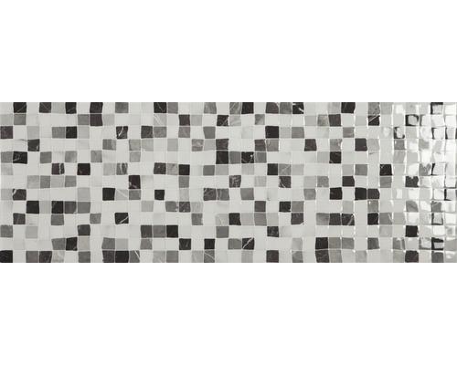 Steingut Wandfliese Calacatta 25 x 70 cm Weiß
