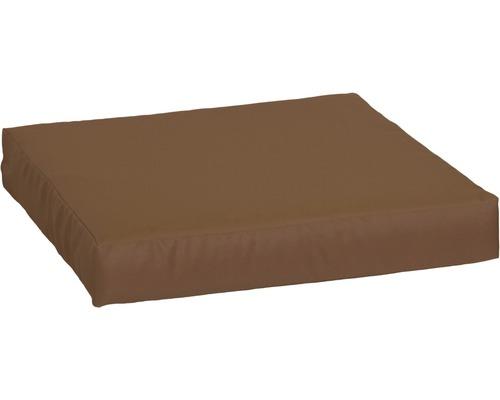 Palettenkissen für Sitzfläche Premium 80x60 cm Polyester sand