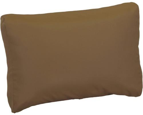 Palettenkissen für Rückenfläche Premium 60x40 cm Polyester sand