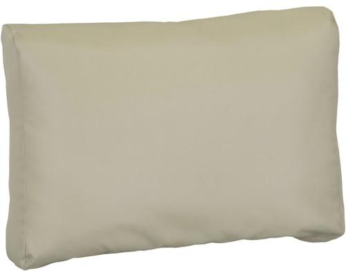 Palettenkissen für Rückenfläche Premium 80x40 cm Polyester beige